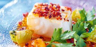 Plats de poisson chauds